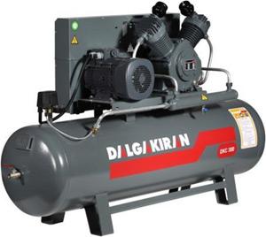 Промышленный поршневой компрессор DKT 100 380V - «Промкомпрессор»